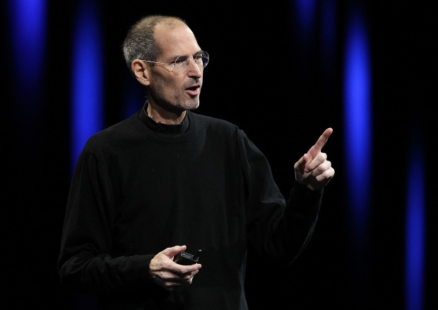 The late Steve Jobs of Apple Inc. (Photo by Justin Sullivan/Getty Images)